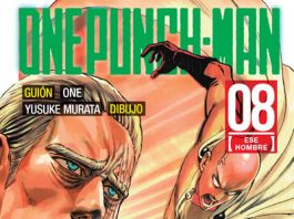 One punch-man 8