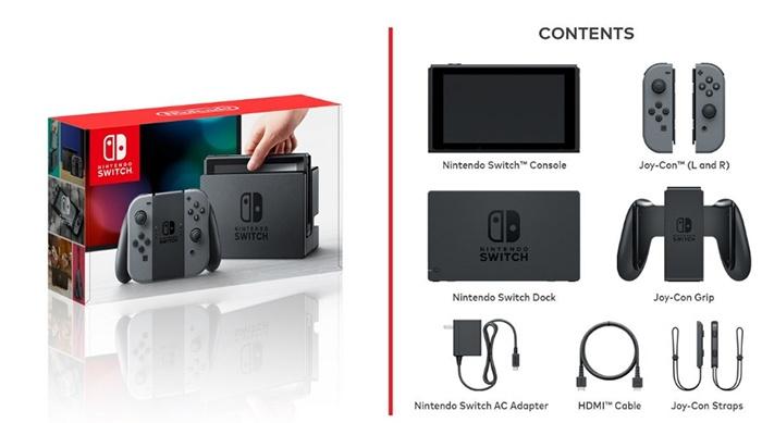 switch caja