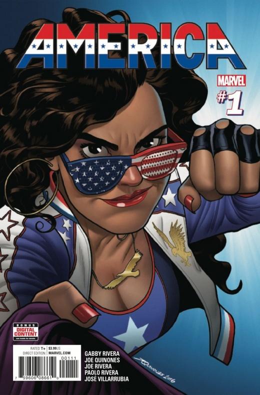 America Covers Marvel Comics