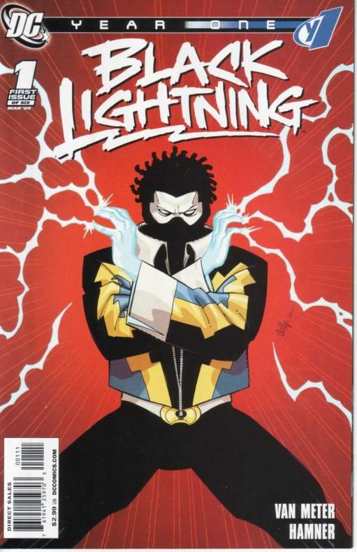 Black Lightning: Year One #1 2009