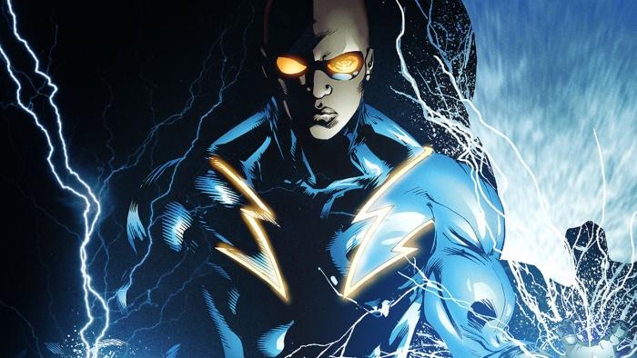 Black lighting The CW