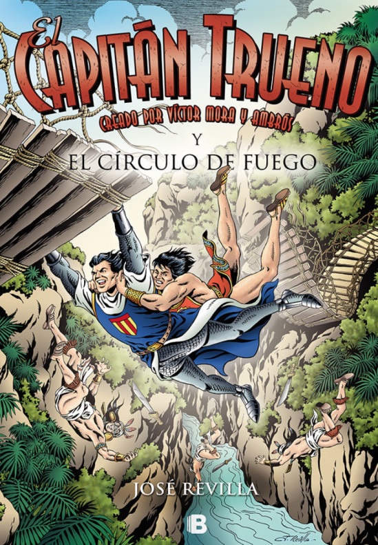 Capitán Trueno y el círculo de fuego