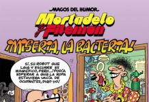 Mortadelo y Filemón. ¡Miseria, La Bacteria!