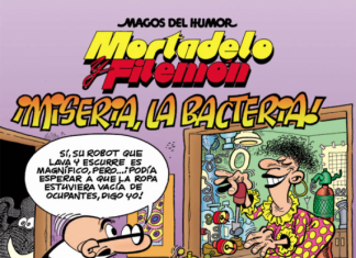 Mortadelo y Filemón. ¡Miseria, La Bacteria!