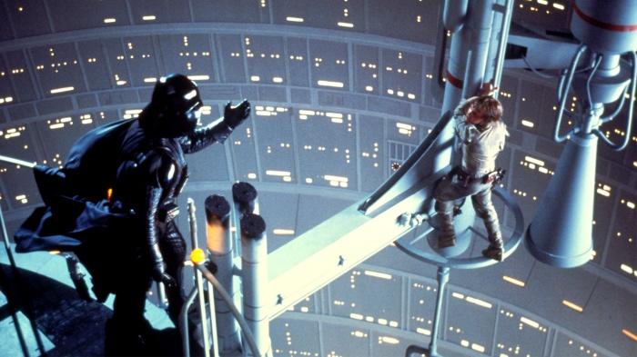 Darth Vader y Luke
