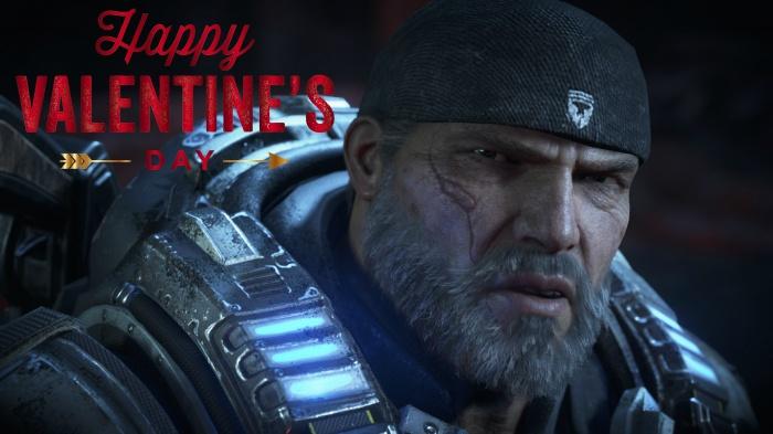 Gears Of War 4 celebra San Valentín