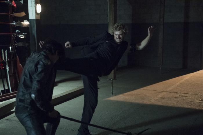 Iron Fist Danny Rand en acción