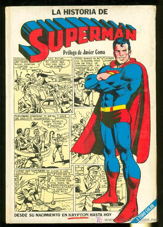 Javier Coma prólogo en La Historia de Superman