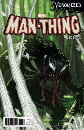 Man Thing 1 Hans Venomized Variant