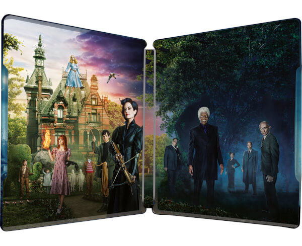 'El hogar de Miss Peregrine para niños peculiares' en Blu-Ray y en 3D