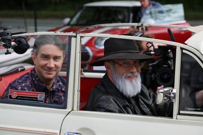 Paul Kaye en 'Back in Black', documental sobre Terry Pratchett