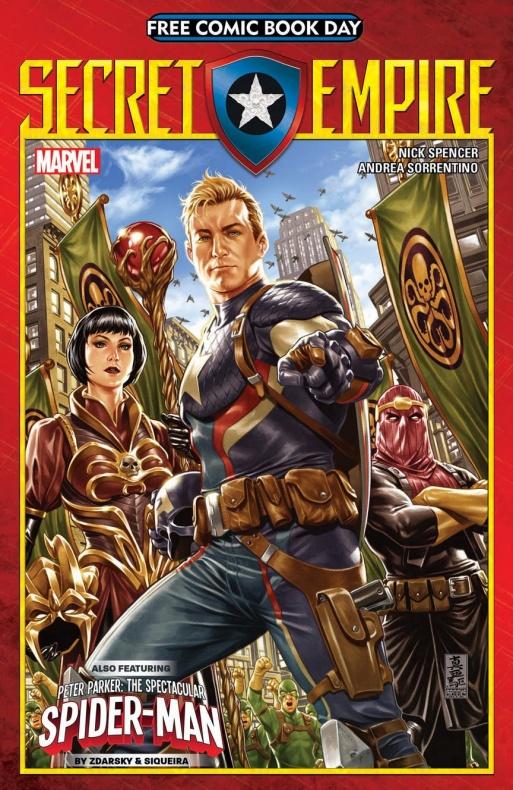 Secret Empire FCBD 1 Cover