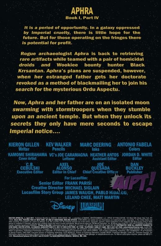 Star Wars Doctor Aphra 4 1