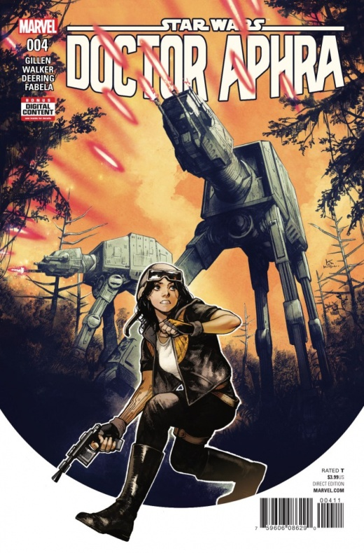 Star Wars Doctor Aphra 4 portada