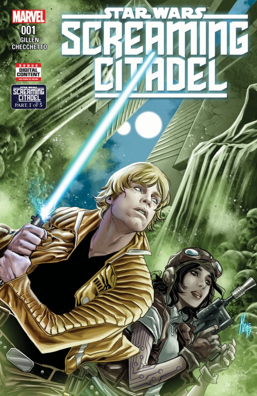 Star Wars Screaming Citadel 1 Portada