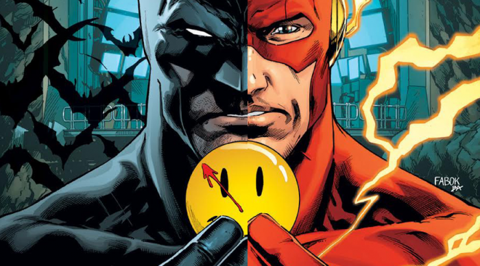 Batman y Flash Rebirth