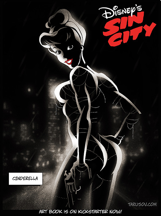Princesas Disney Sin City