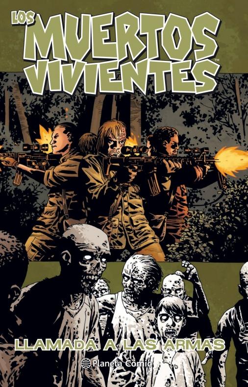 los muertos vivientes planeta comic