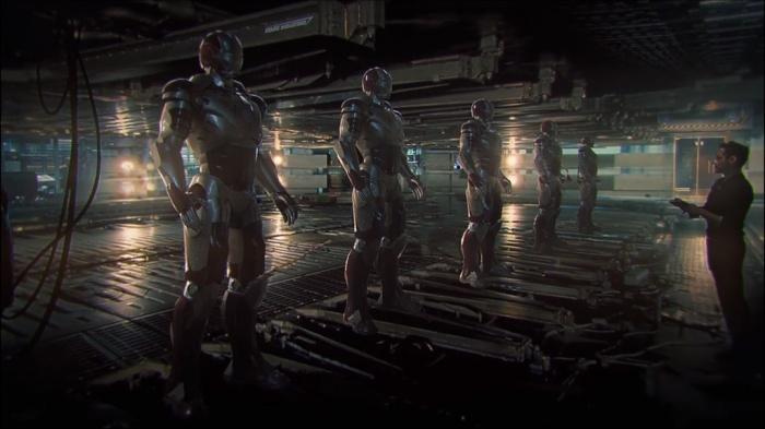nuevas armaduras iron man