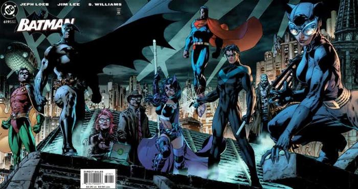 Batman 619 jim lee full