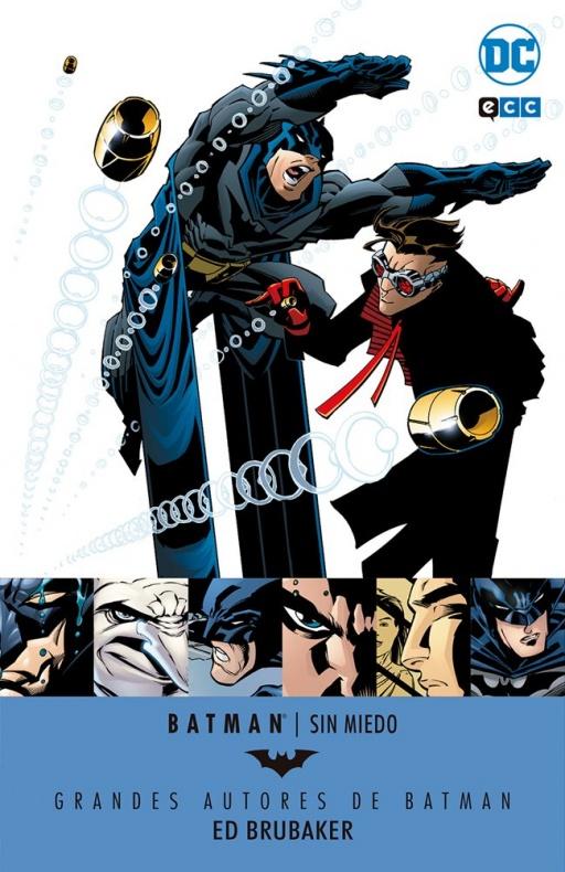 Batman Brubaker Sin miedo