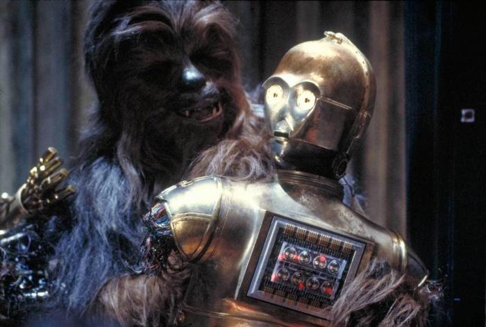 Chewbacca y C3PO
