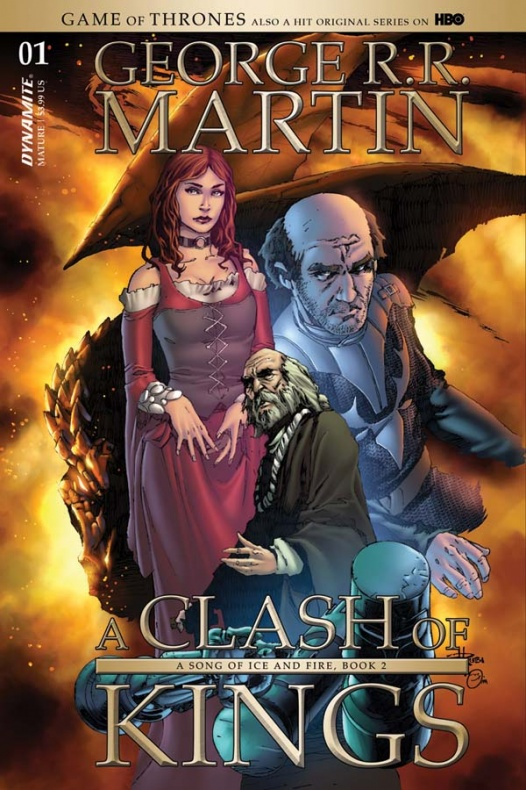 Choque de reyes A clash of kings Dynamite portada 4