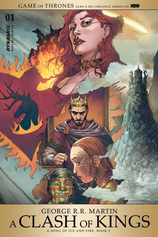 Choque de reyes A clash of kings Dynamite portada