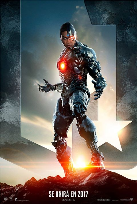 Cyborg - Justice League póster