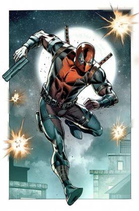 Deadpool Bad Blood Rob Liefeld Marvel