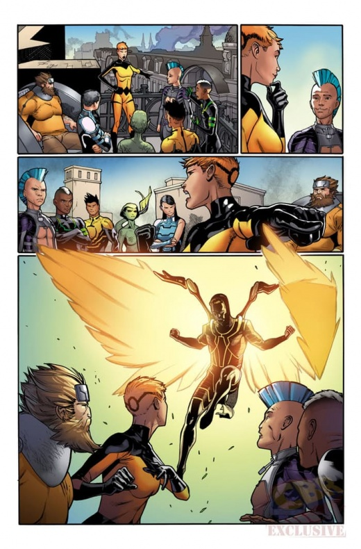 Death of X 3 Marvel Now 2016 IVX Spoilers Preview B