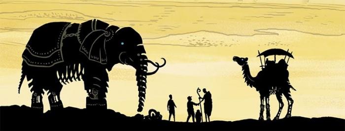 Desierto de Metal comic africa