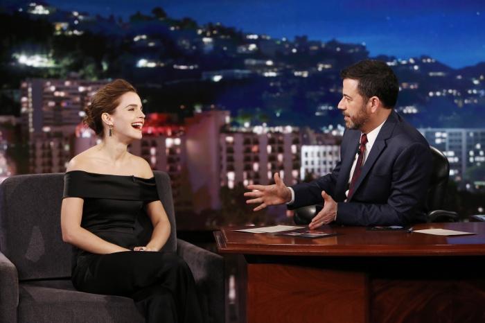 Emma Watson Jimmy Kimmel