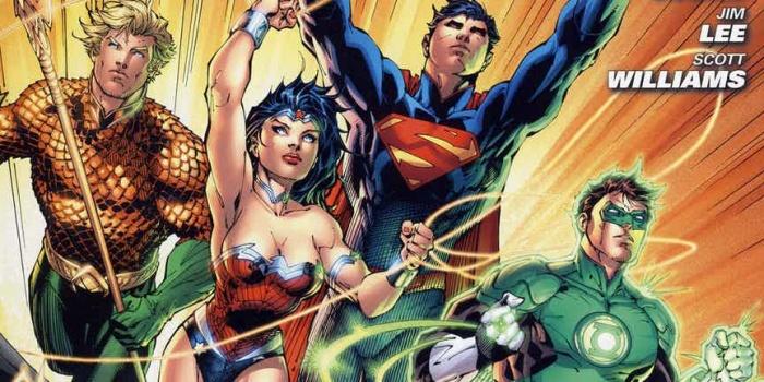 Justice League 1 Jim Lee