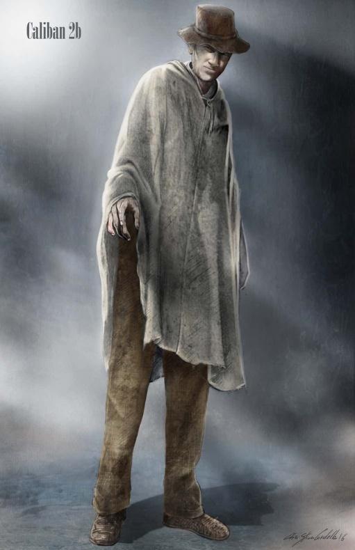 Logan arte conceptual 5 Caliban