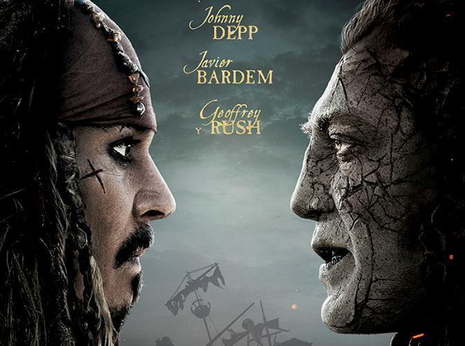 Piratas del Caribe póster cabecera