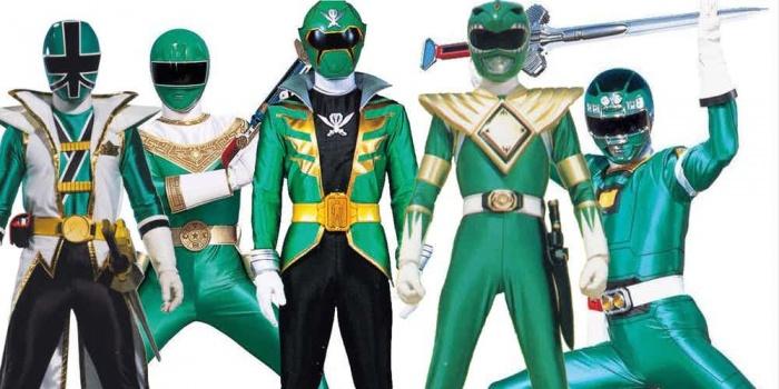 Power Ranger Ranger Verdes