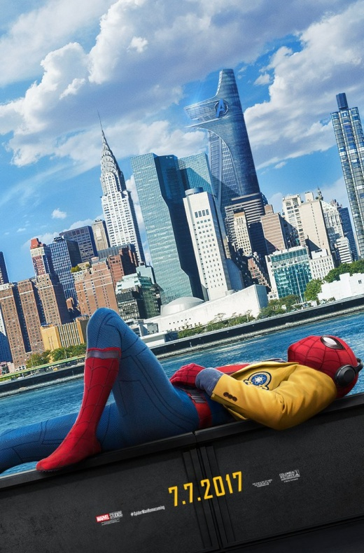Spiderman Homecoming - primer póster