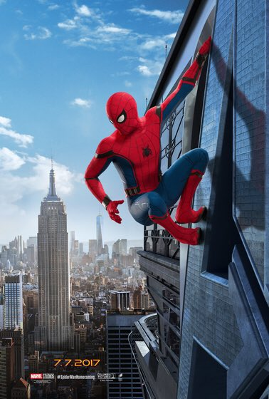 Spiderman Homecoming - segundo póster