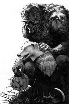 Swamp Thing Superbear Halloween Wrightson