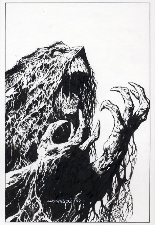 Swamp Thing Wrightson