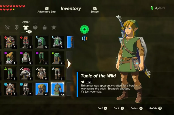 The Legend of Zelda Breath of the Wild 001