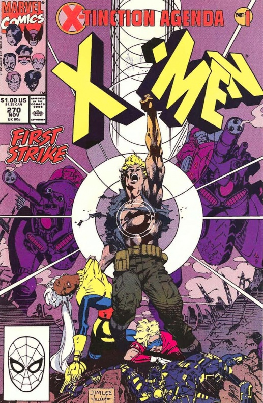 Uncanny X Men 270 jim lee full