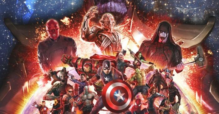 Vengadores La Guerra del Infinito