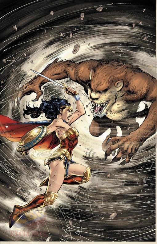 Wonder Woman Tazmanian Devil