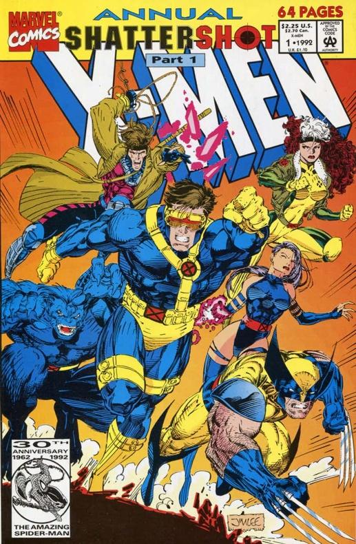 X Men Annual 1 Jim Lee full