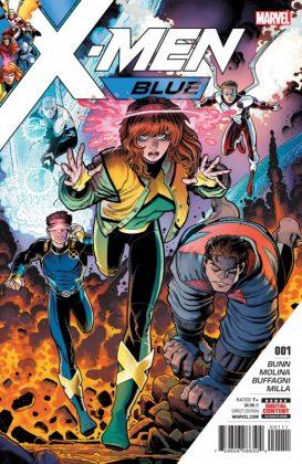 X Men Blue 1 Cover