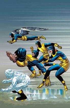 X Men Blue 1 Kirby 100th Variant