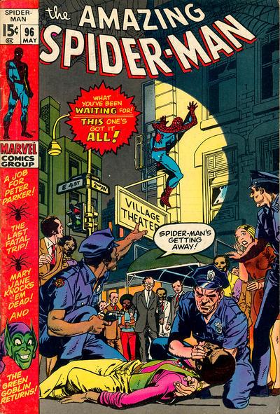 amazing spider man 96