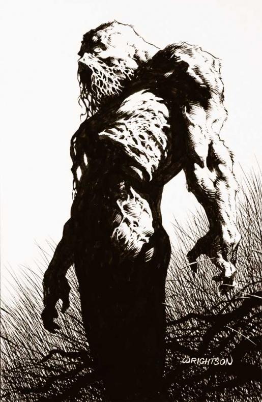 berni wrightson swamp thing proto